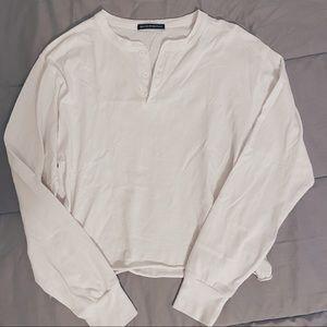 Brandy Melville white long sleeve